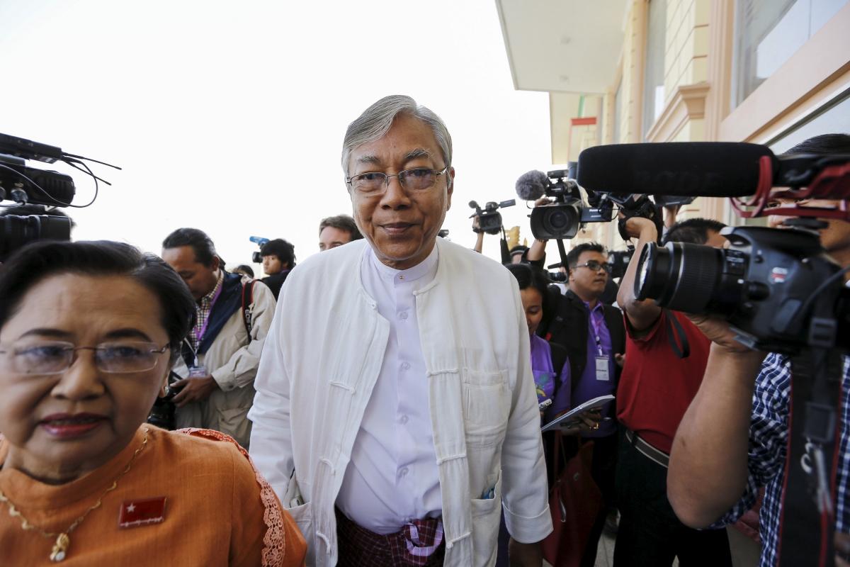 Htin Kyaw Myanmar president to be