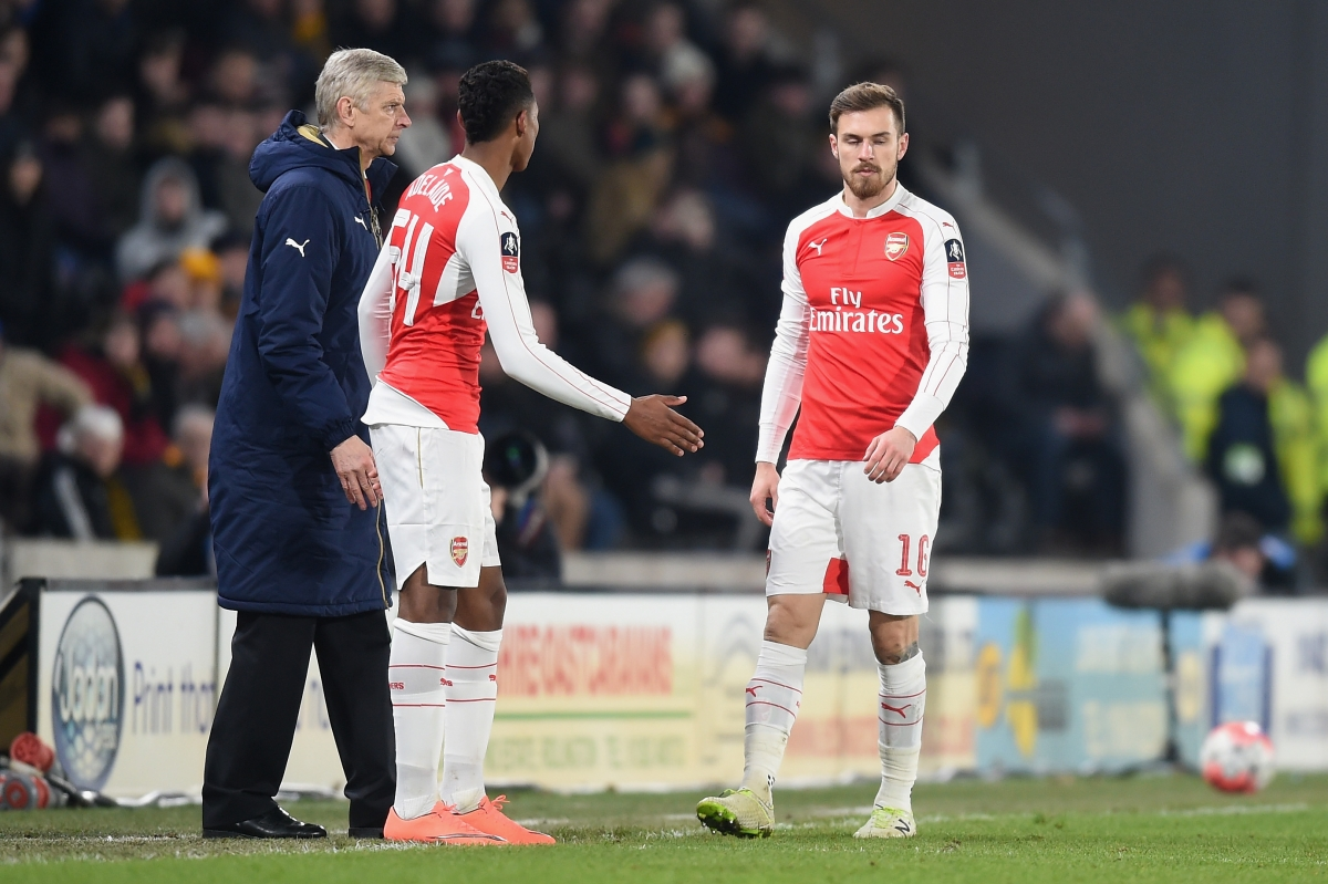 Arsenal vs Watford: Aaron Ramsey doubtful for FA Cup ...
