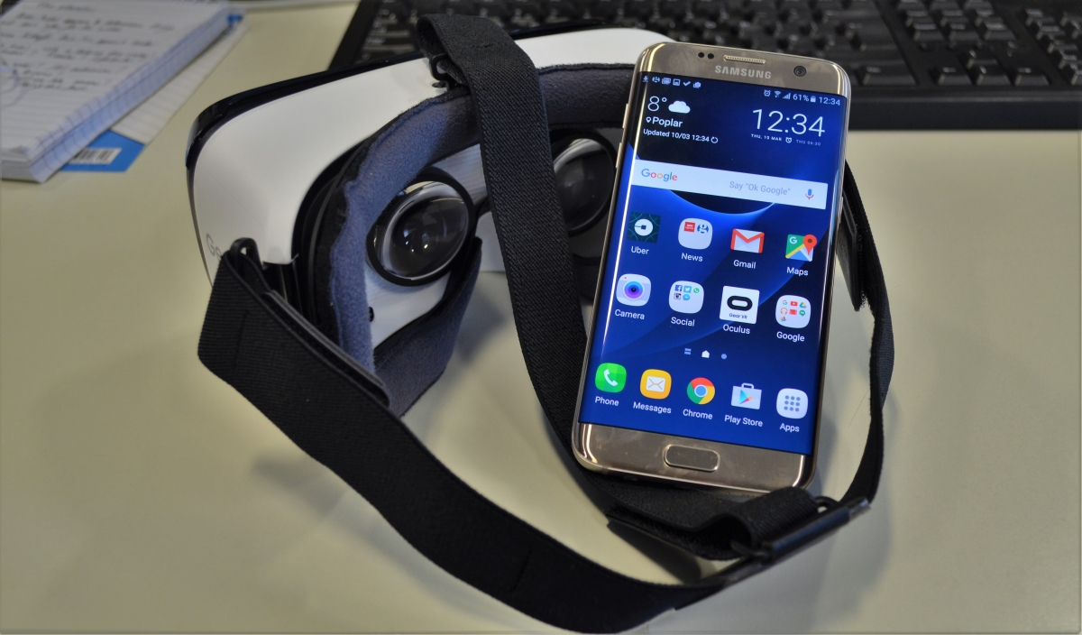 3892221f3fa9 Samsung Gear VR set up - how to set it up with the Galaxy S7 or S7 Edge