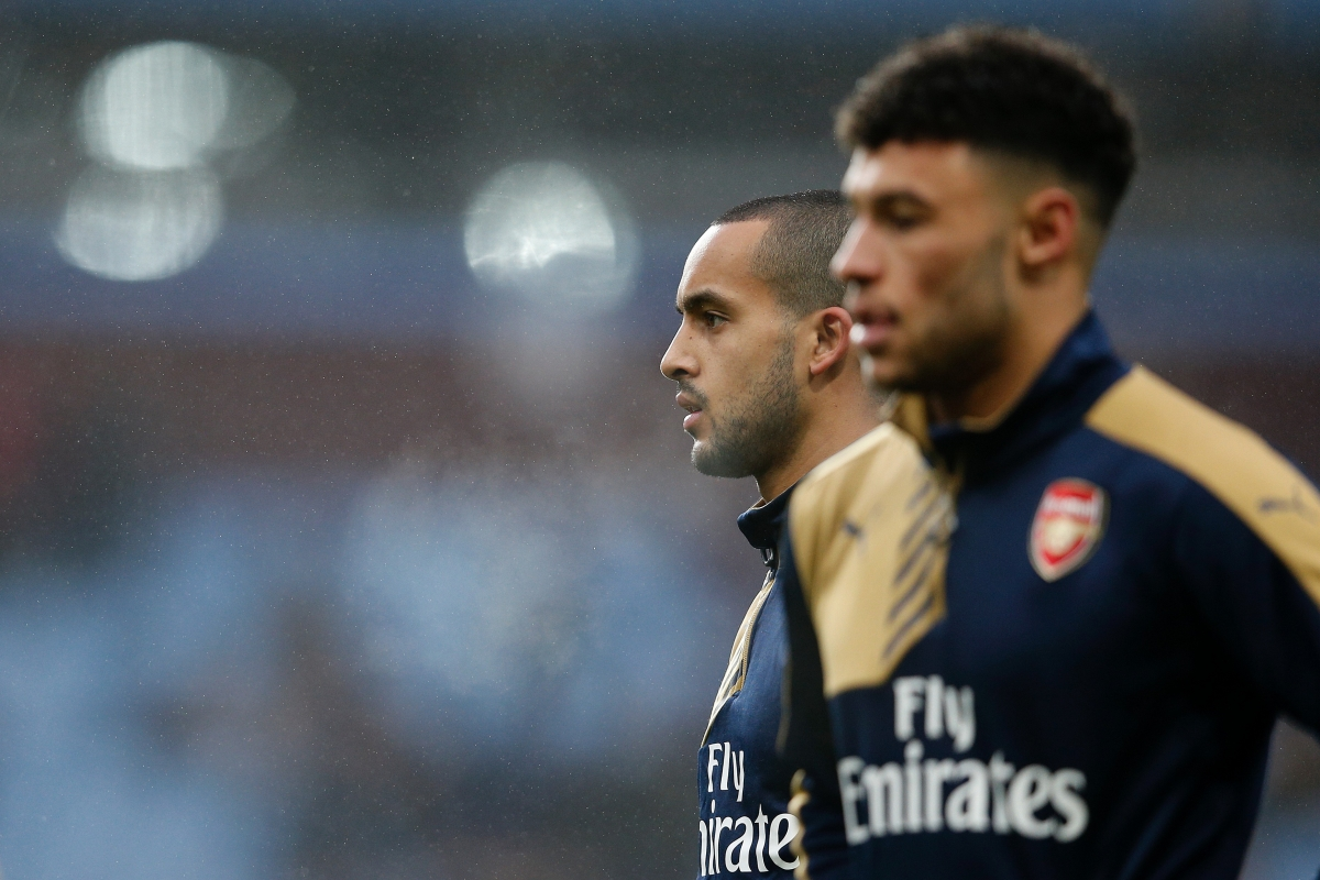 Theo Walcott and Alex Oxlade-Chamberlain