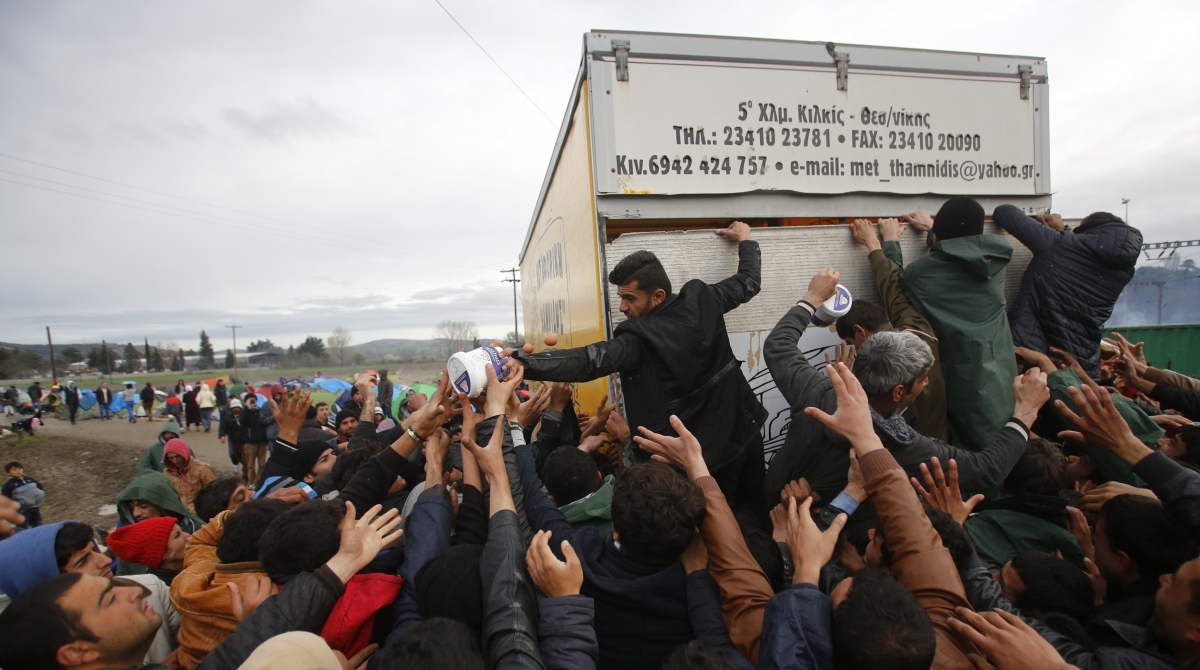 Migrant crisis Greece Macedonia Idomeni
