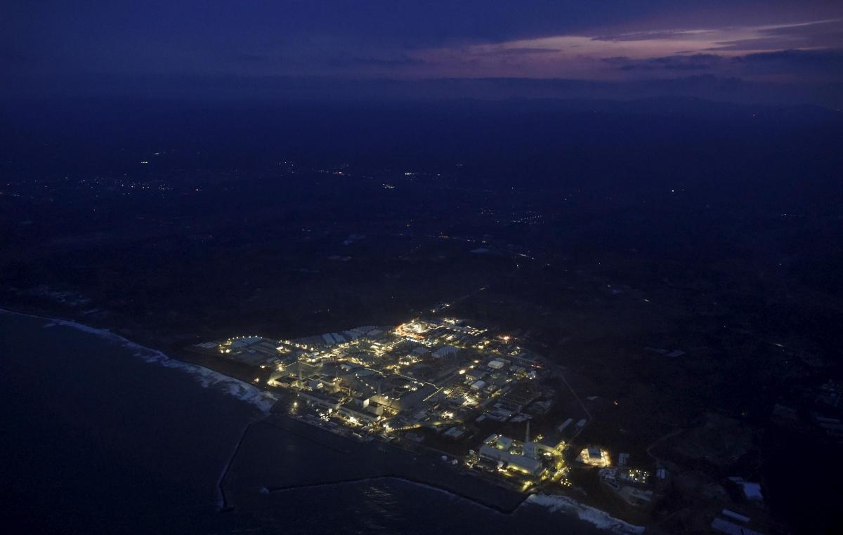 fukushima nuclar power station 2016