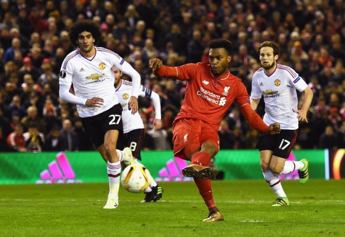 Sturridge scores from the spot