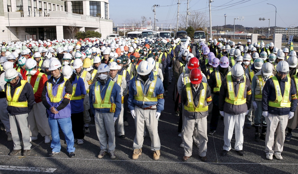 Japan Fukushima anniversary