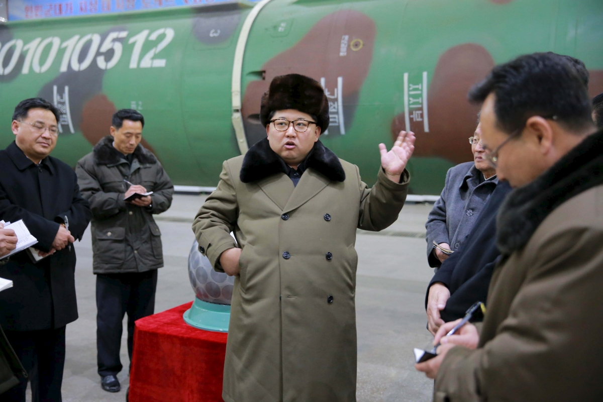 North Korea Kim Jong-un nuclear tests