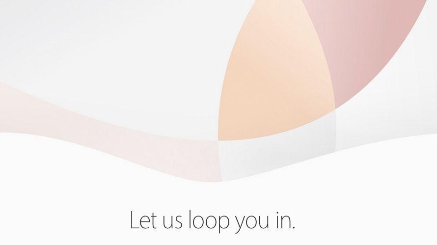 Apple event invite 21 March