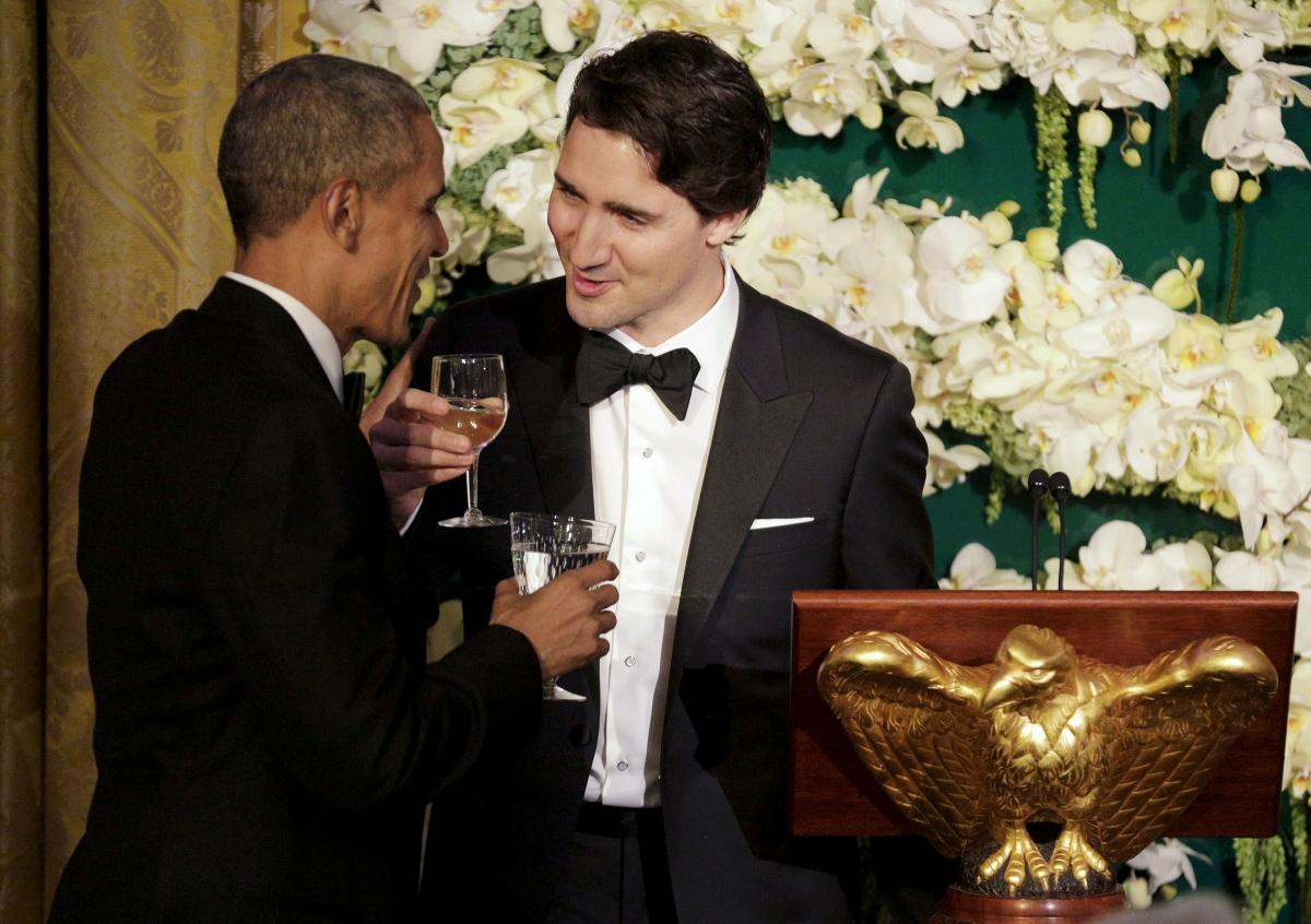 Barack Obama and Justin Trudeau
