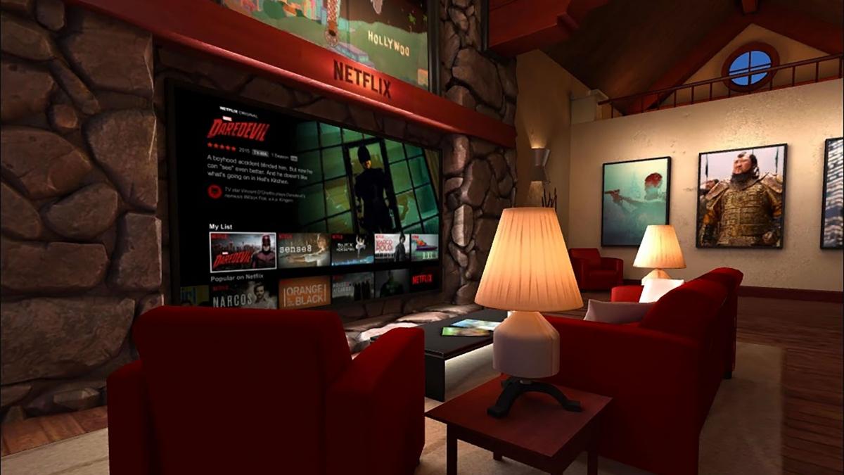 Netflix VR app