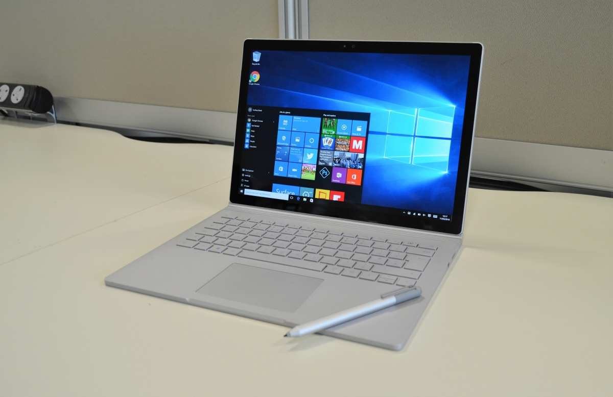 microsoft surface book review is this shape shifting laptop the ultimate all in one. Black Bedroom Furniture Sets. Home Design Ideas