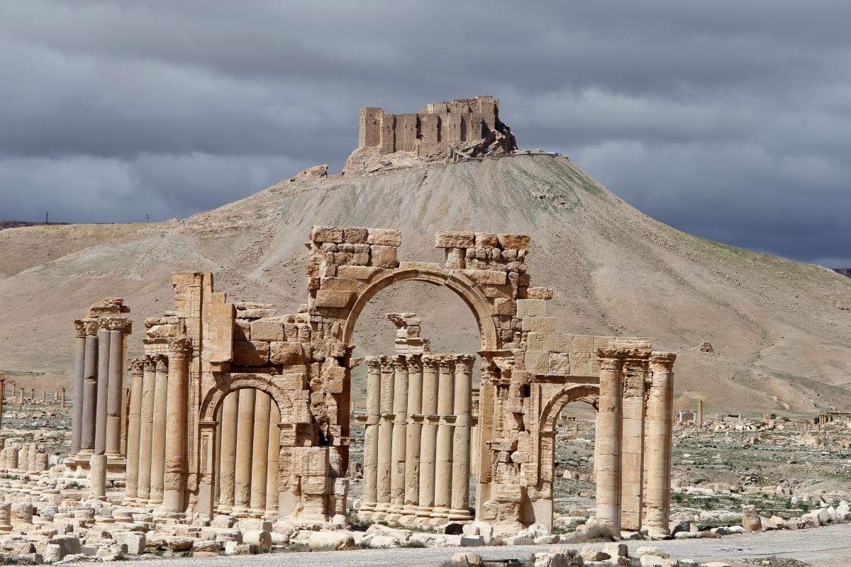 Palmyra Syria Isis
