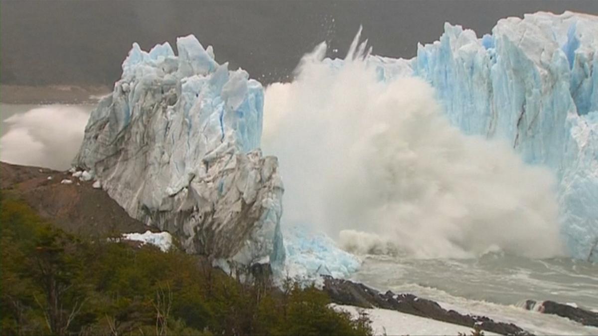 Perito Moreno collapse