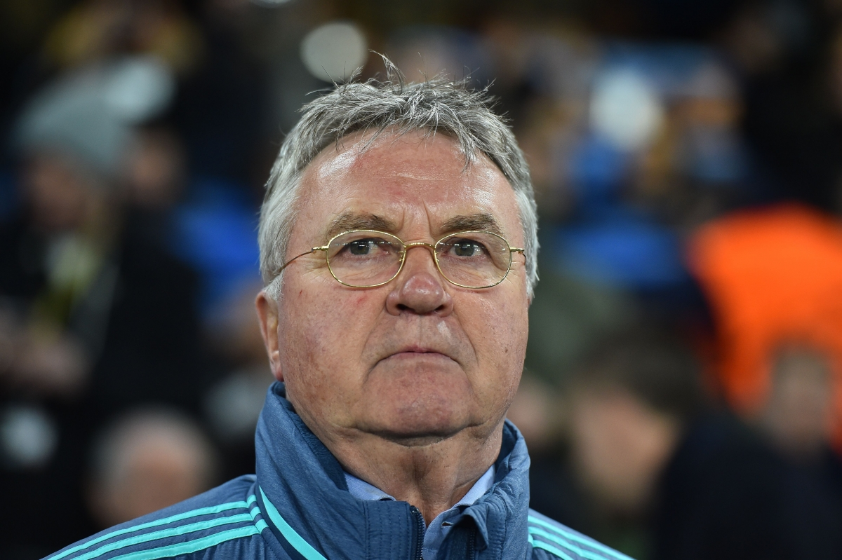 Guus Hiddink is to leave Chelsea