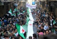 Syria protests ceasefire