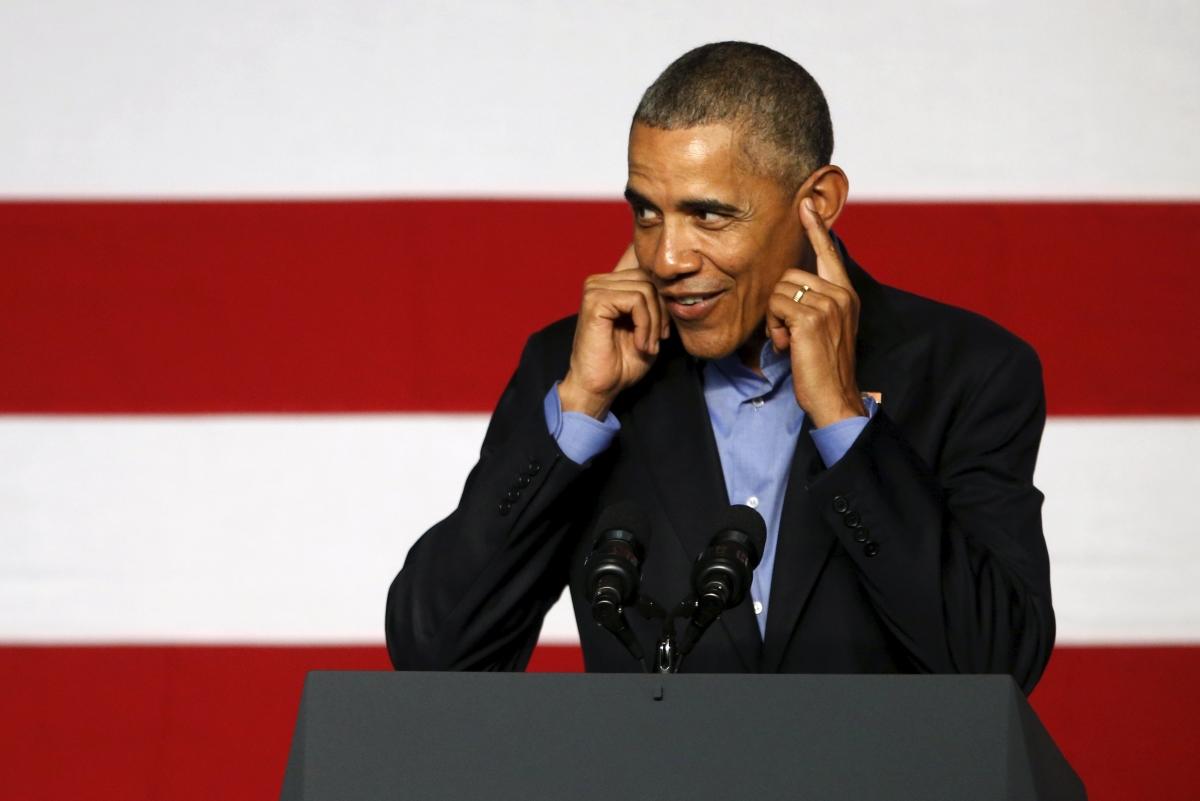 Barack Obama at Democrat convention