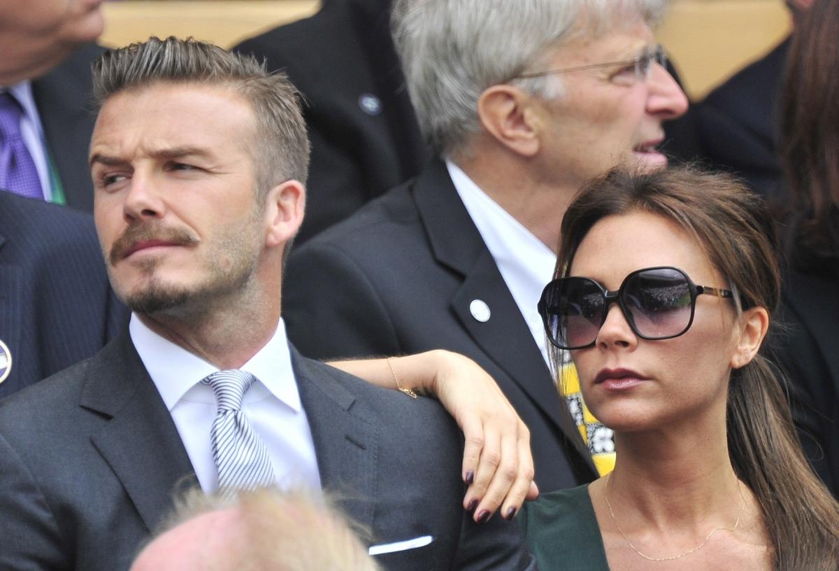 Strange David And Victoria Beckham Divorce Couple Stand United Against Hairstyles For Women Draintrainus