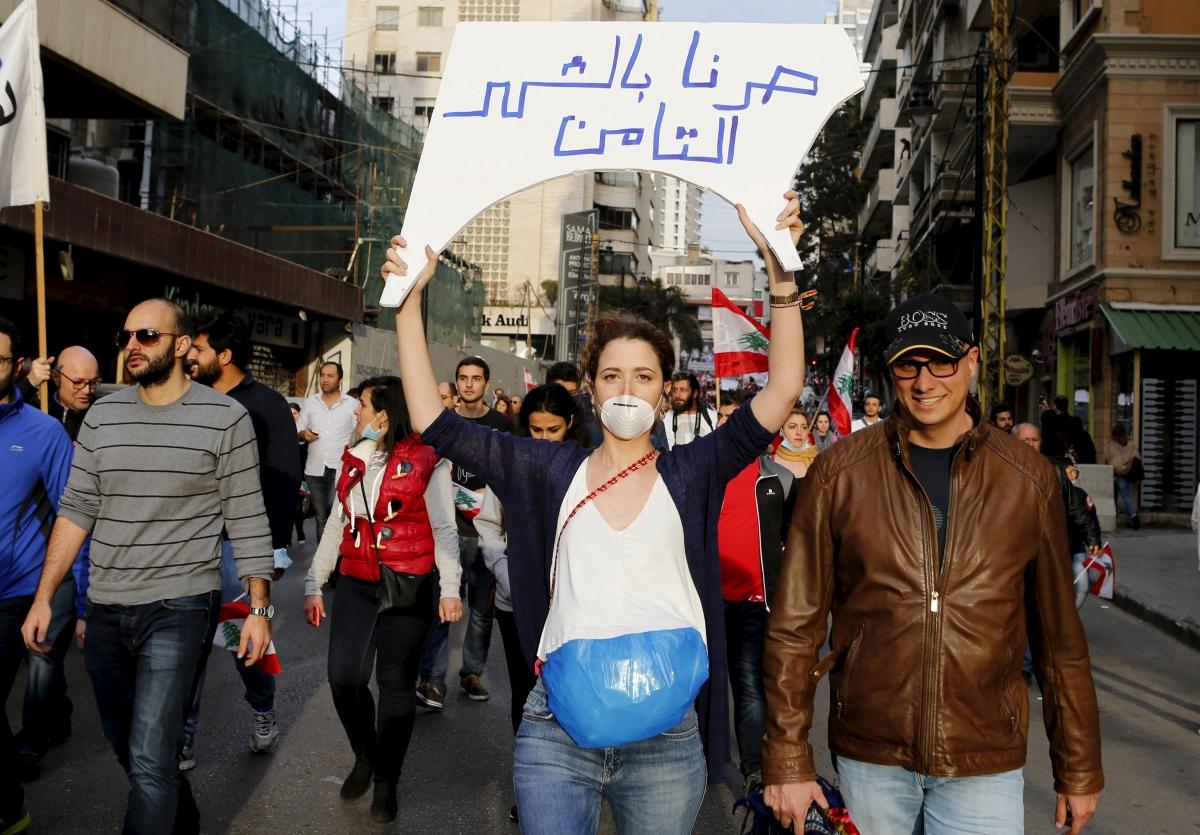 Lebanon garbage crisis