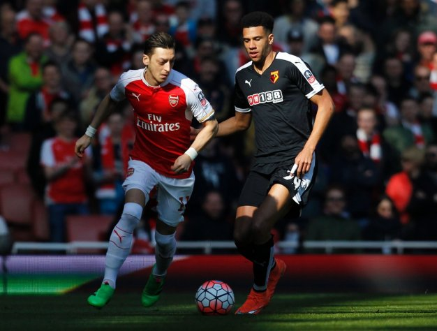 Mesut Ozil struggled to make an impression