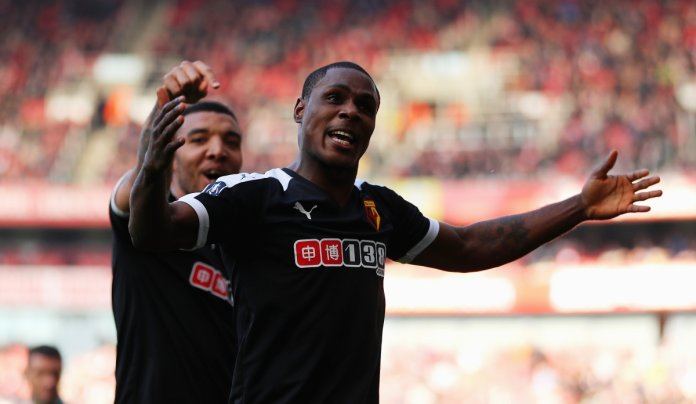 Ighalo celebrates his goal