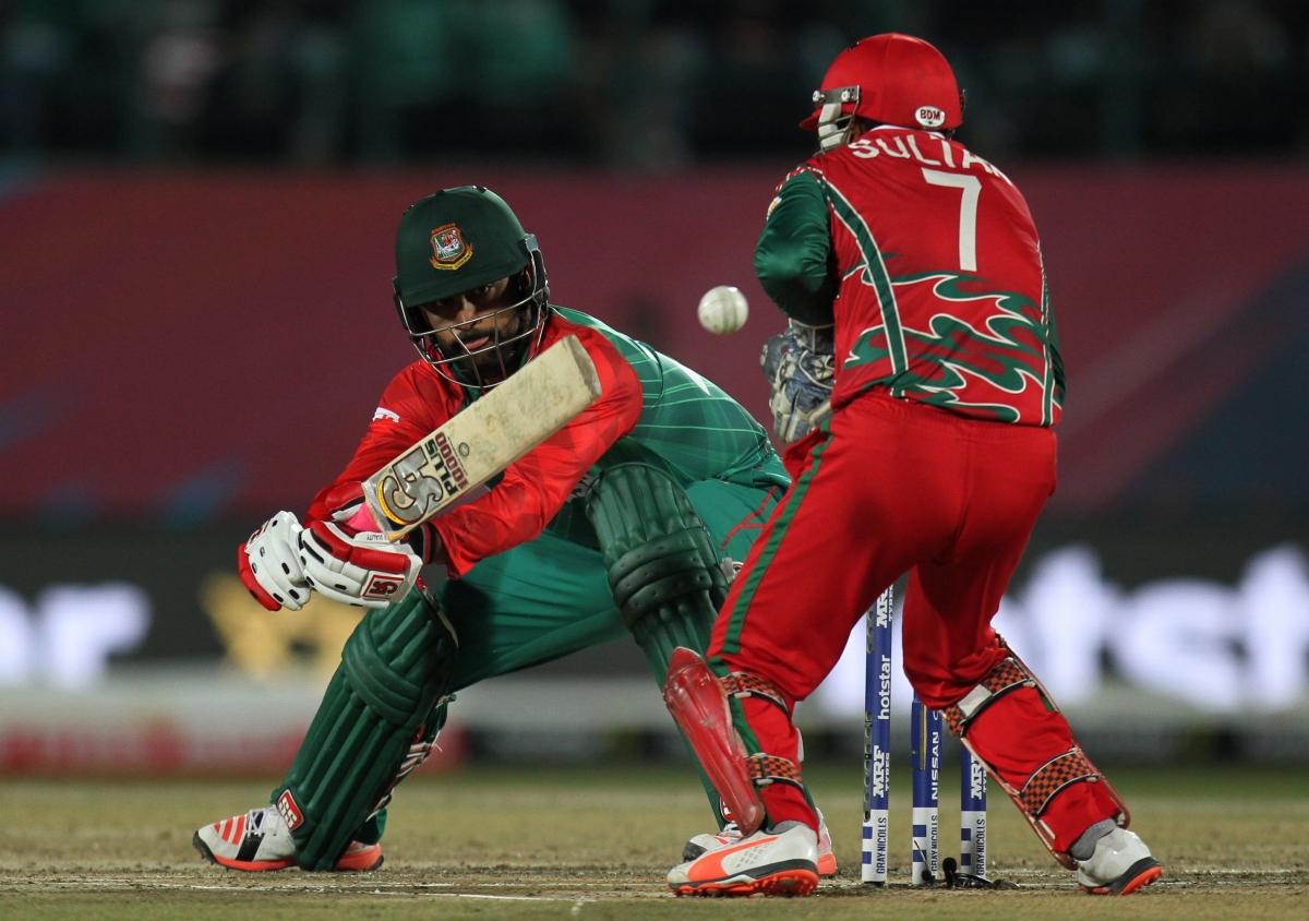Tamim Iqbal during his impressive innings