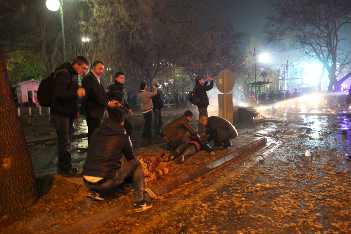 Ankara Turkey bombing 13 March 2016