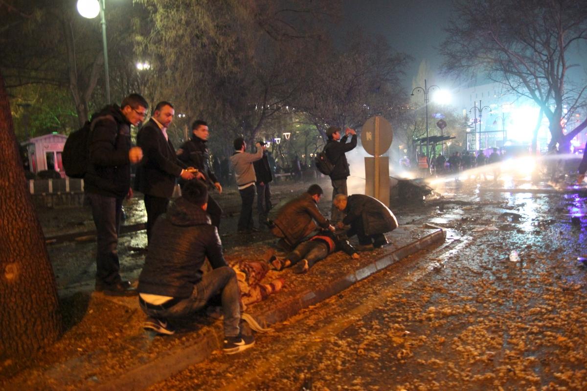 Ankara Turkey bombing 13 March 2016