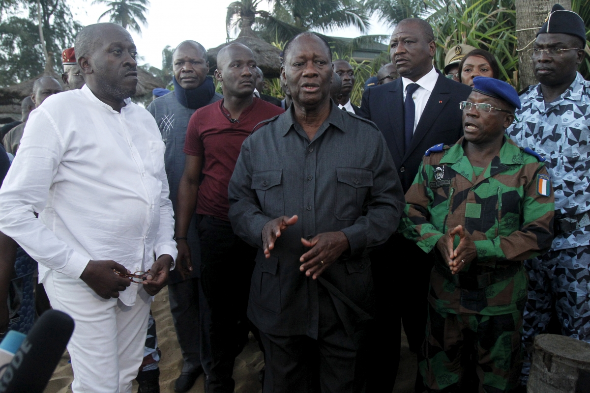 Ivory Coast hotel attack