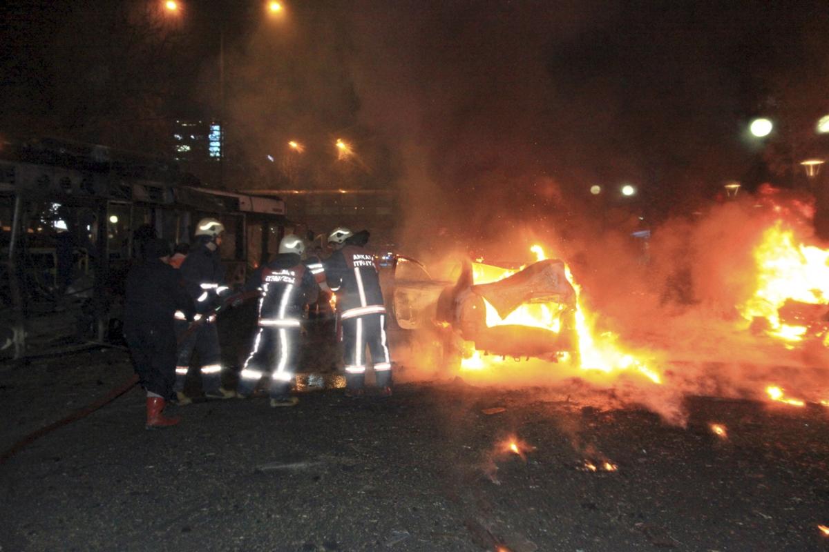 Turkey Ankara bombing