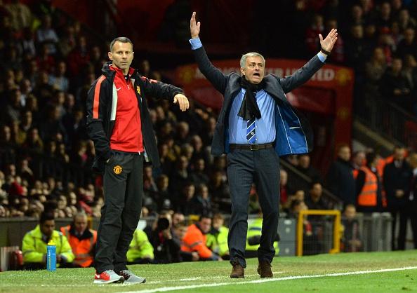 Ryan Giggs-Jose Mourinho
