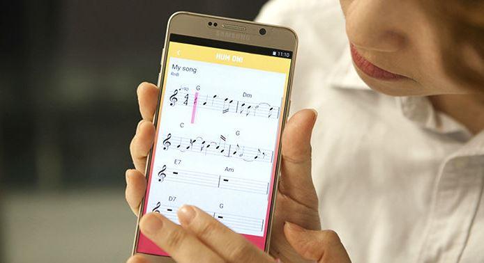 Samsung Hum On! app