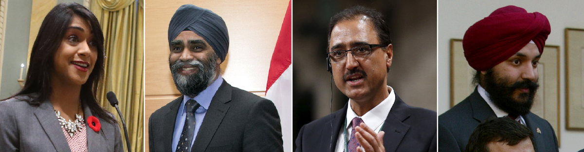 Sikh Canadian cabinet members