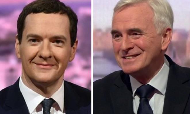 George Osborne and John McDonnell