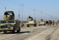 Iraqi government forces in Ramadi