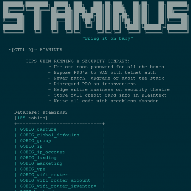 Staminus Communications offline