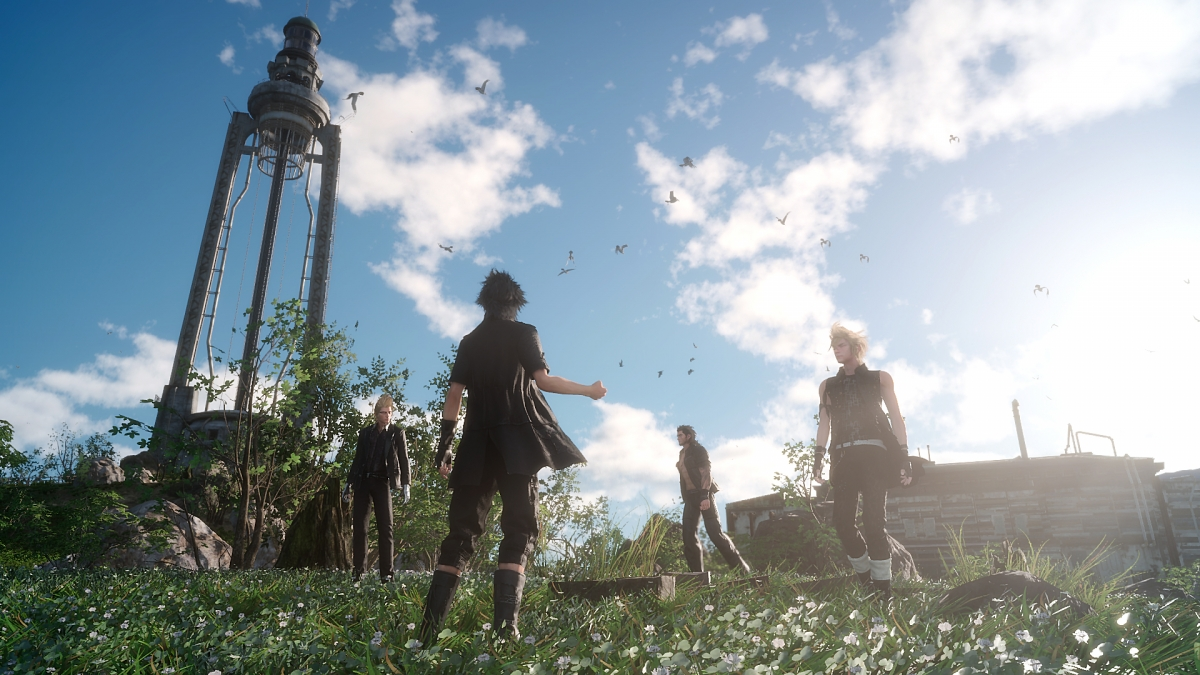 Final Fantasy 15 screenshot PS4 Xbox One