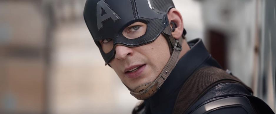 Chris Evans in Captain America: Civil War