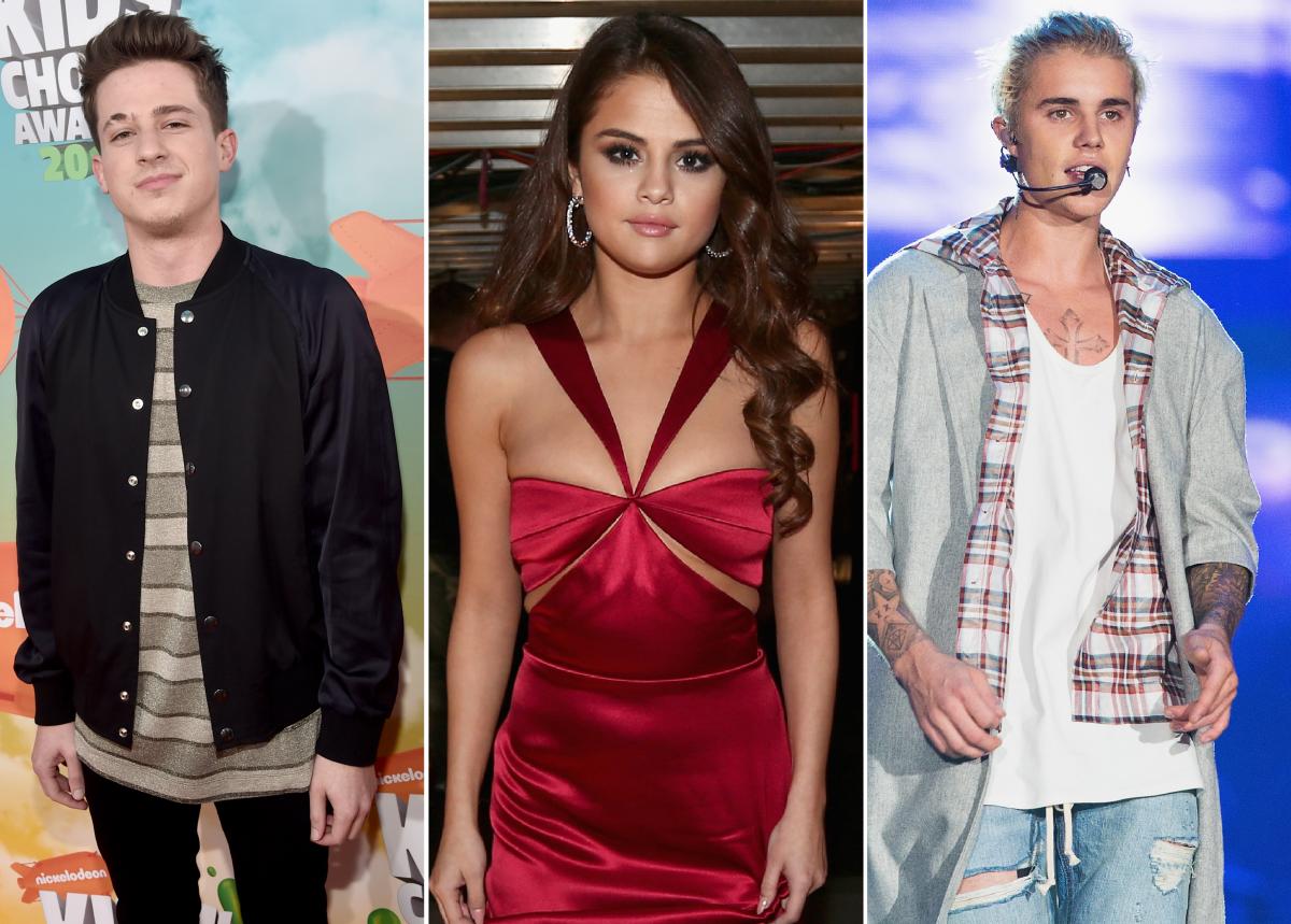 Charlie Puth, Selena Gomez, Justin Bieber