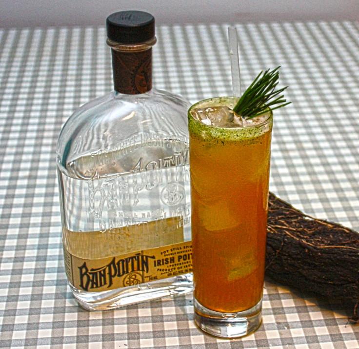 Bán Poitín cocktail at Victory Mansion