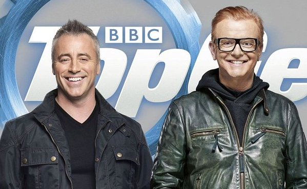 matt leblanc and chris evans for topgear