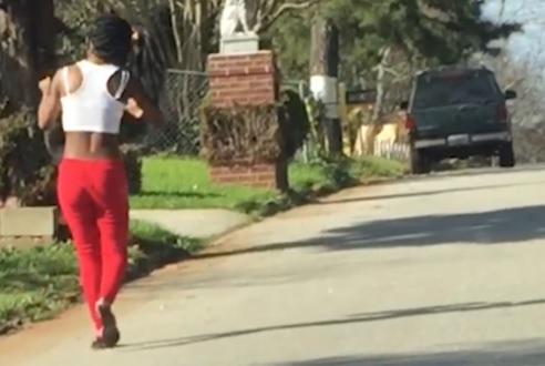 Georgia woman beats dog