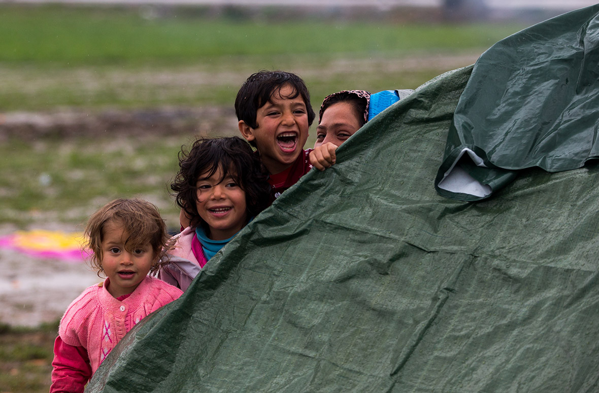 refugees migrants Greece Macedonia
