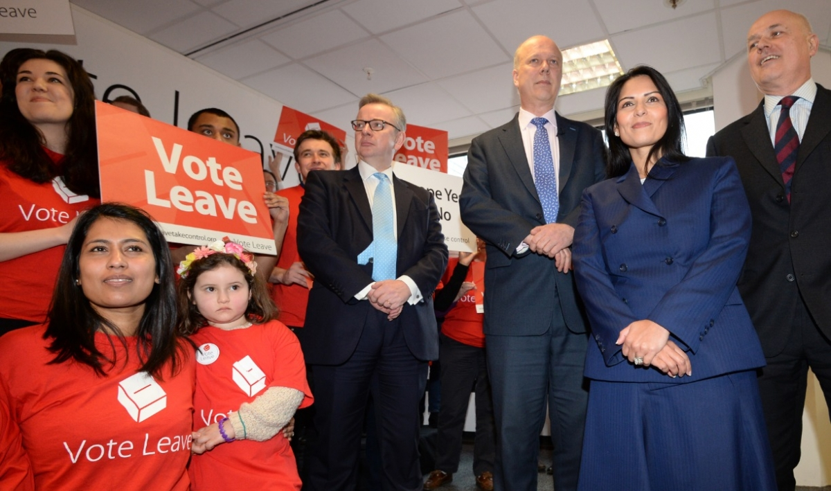 Vote Leave, with cabinet ministers