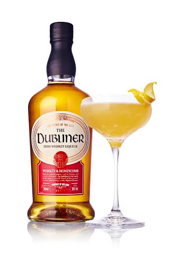 The Dubliner honeycomb cocktail