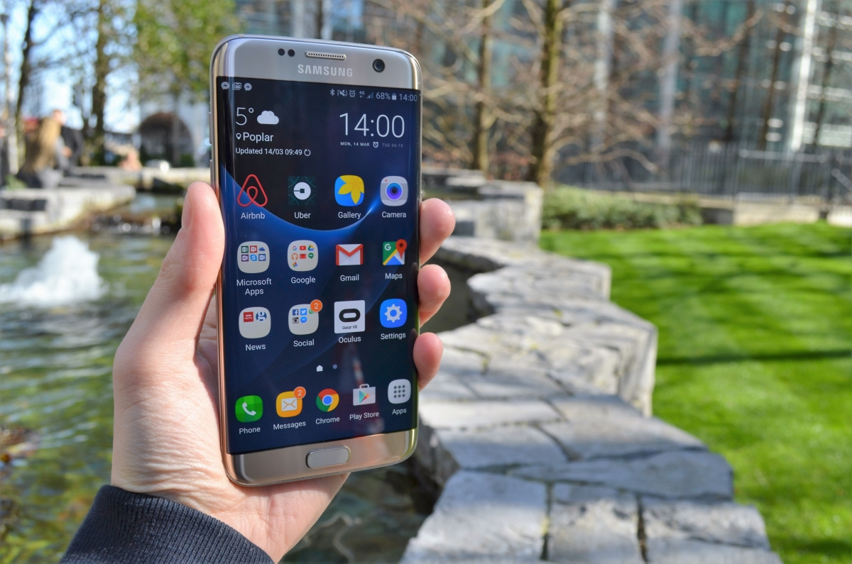 How To Logout Of Gmail On Samsung S7 Samsung Galaxy S7 How
