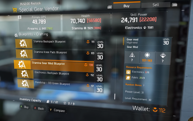 The division phoenix credits guide how they work and how to get the division phoenix credits 3 malvernweather Gallery