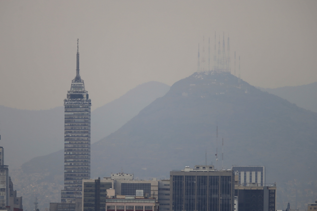 Mexico City air pollution