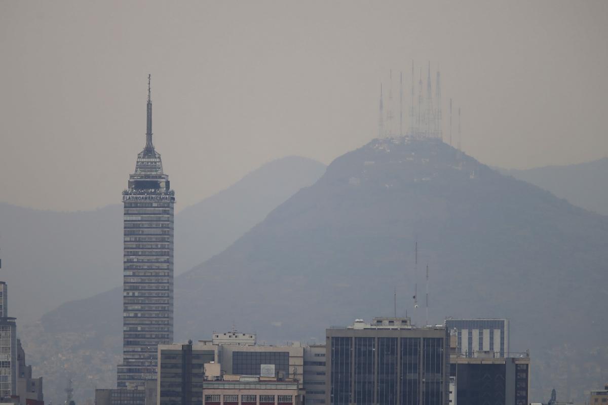 Mexico City air pollution