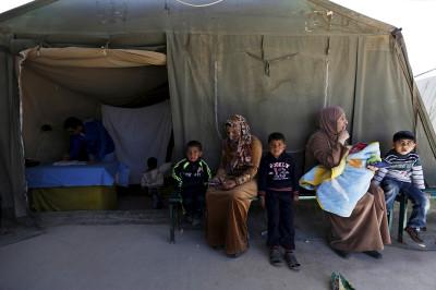 Born in a refugee camp