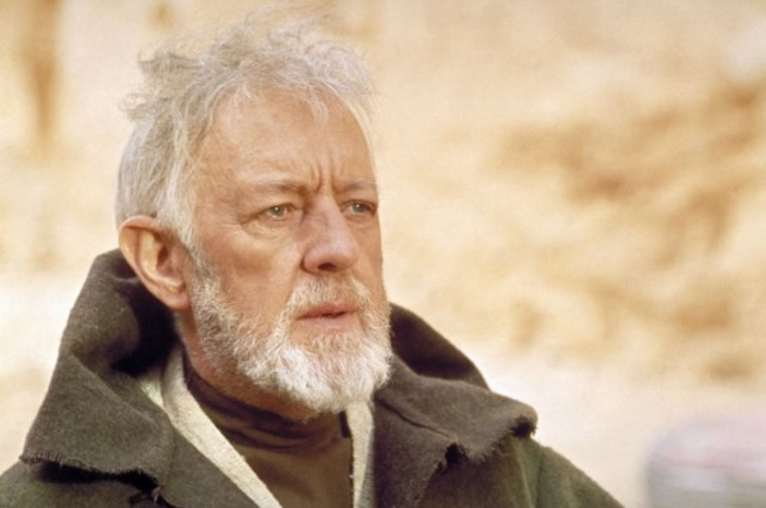 Alec Guiness in Star Wars