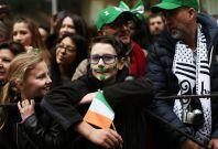 St Patrick\'s Day NYC parade