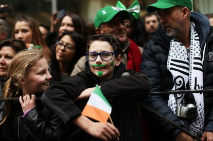 St Patrick\'s Day NYC parade